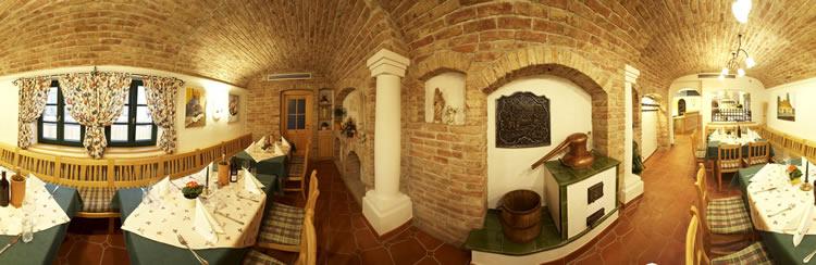 Wein im Stock - Weinlokal Panoramafoto